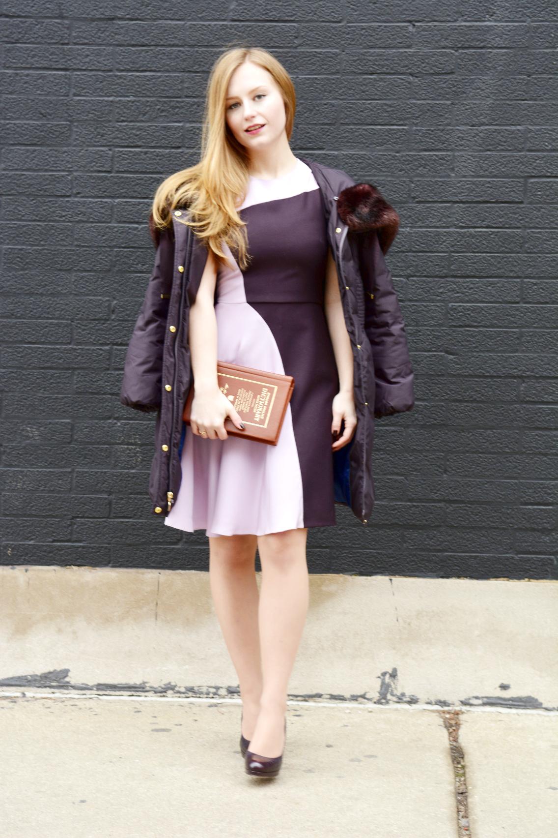 3.1 Phillip Lim Colorblock Dress Kate Spade Dictionary Clutch 14