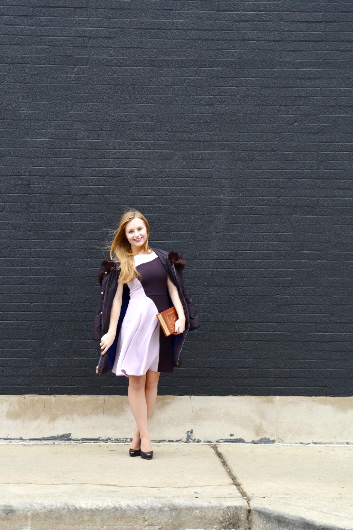 3.1 Phillip Lim Colorblock Dress Kate Spade Dictionary Clutch 6