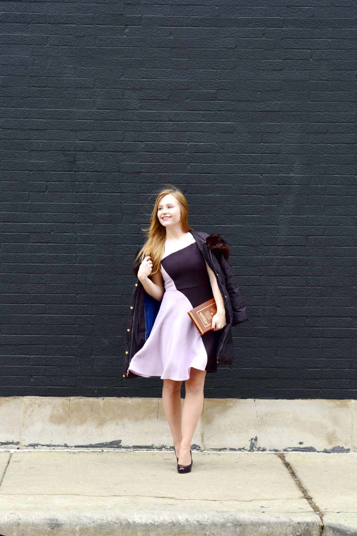3.1 Phillip Lim Colorblock Dress Kate Spade Dictionary Clutch 1