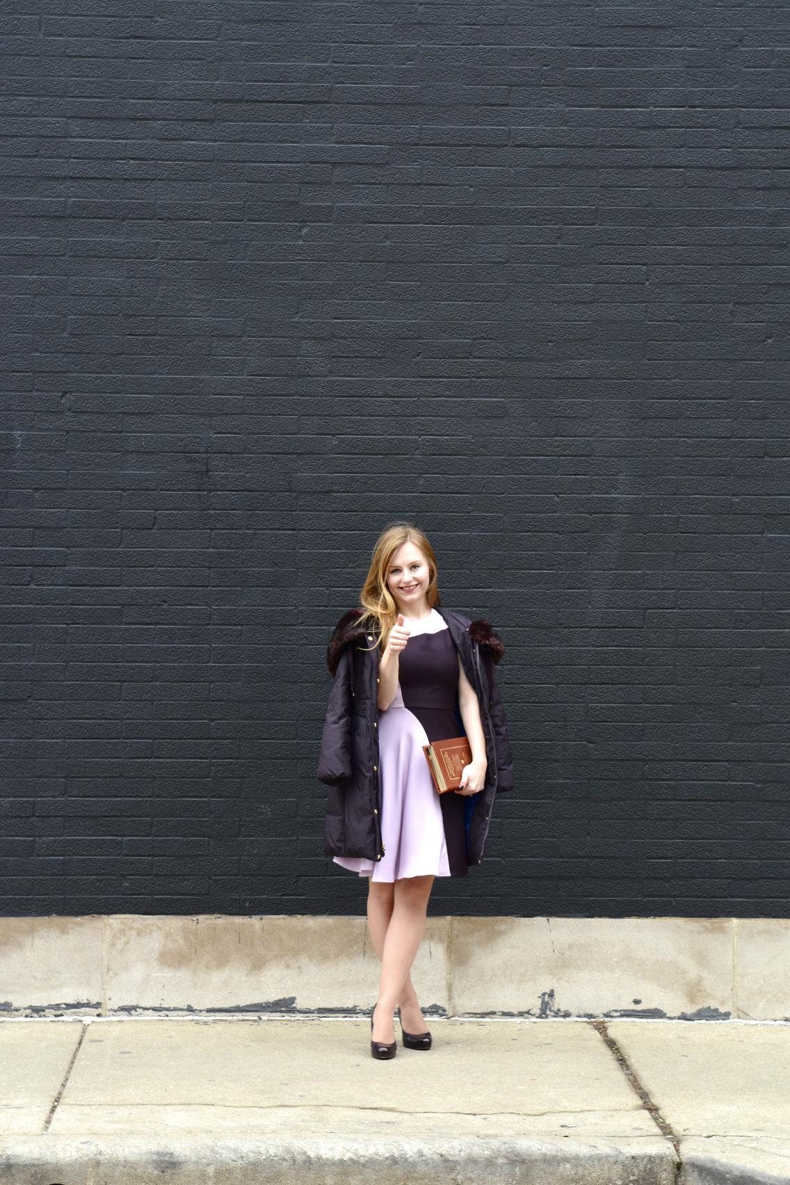 3.1 Phillip Lim Colorblock Dress Kate Spade Dictionary Clutch