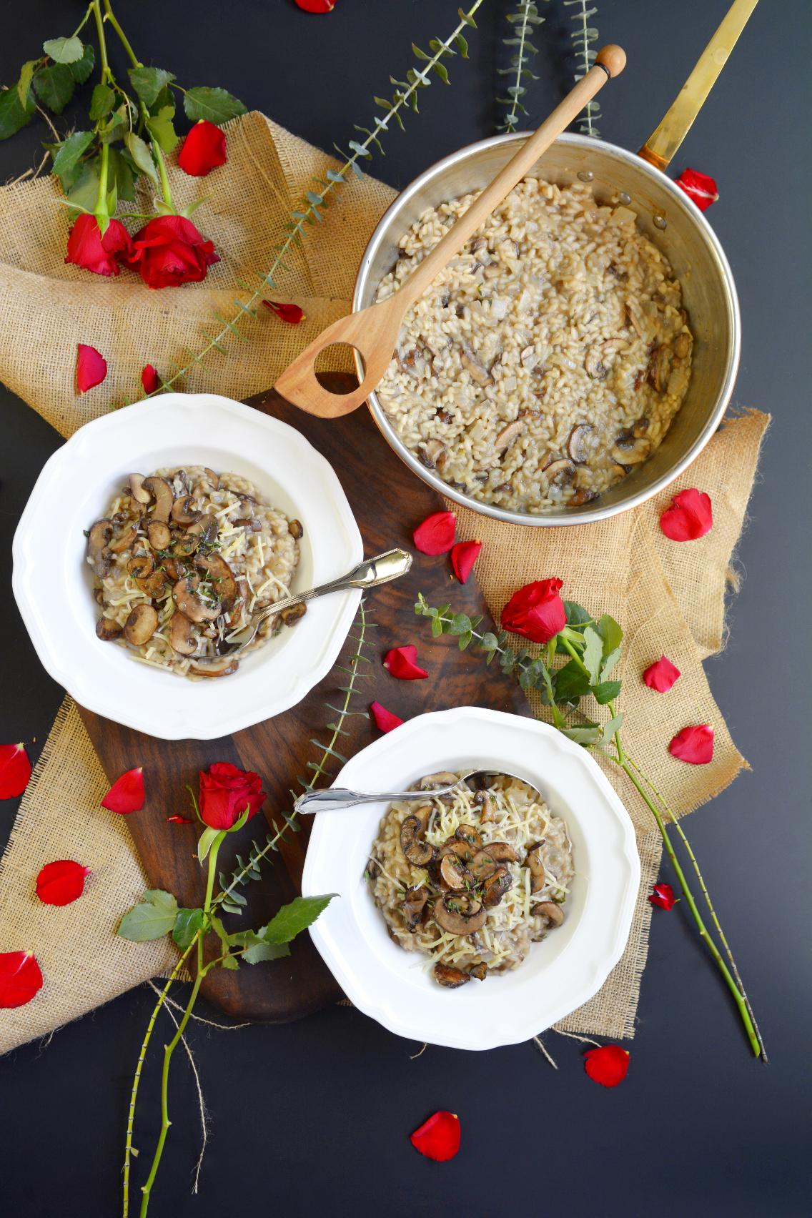 Black Truffle Mushroom Risotto Recipe 4