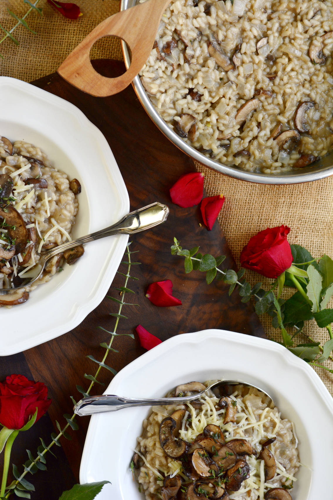 Black Truffle Mushroom Risotto Recipe 6