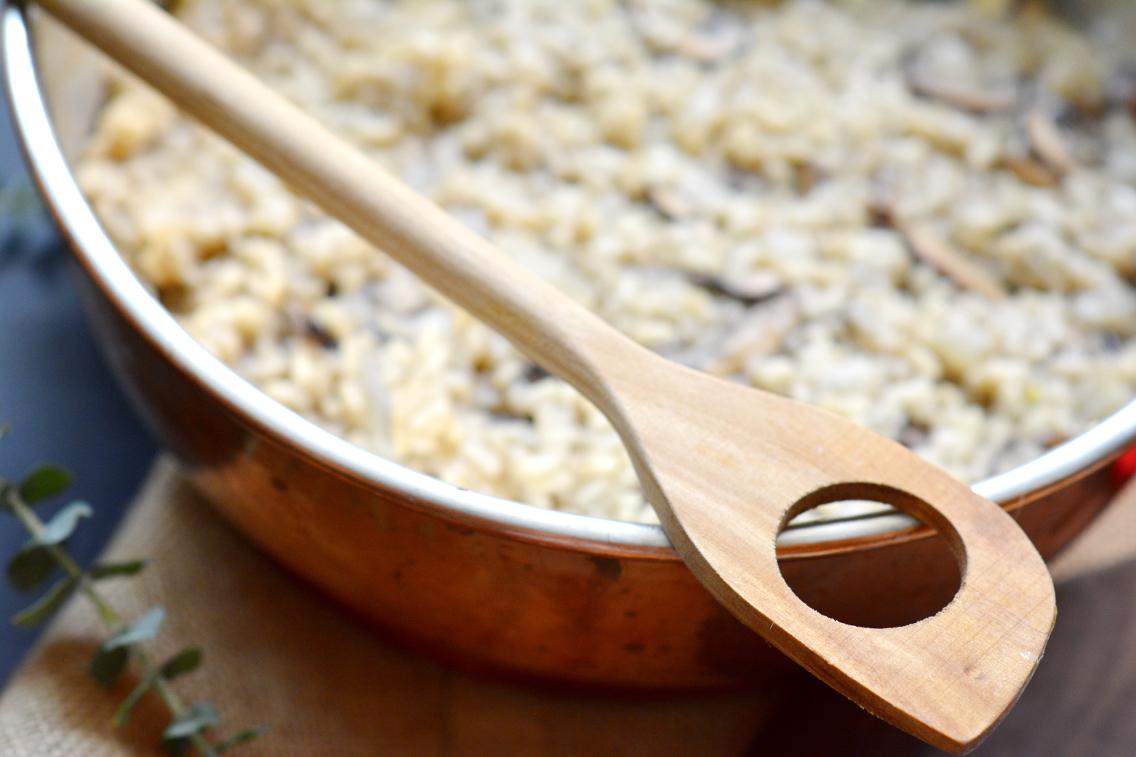 Black Truffle Mushroom Risotto Recipe 10