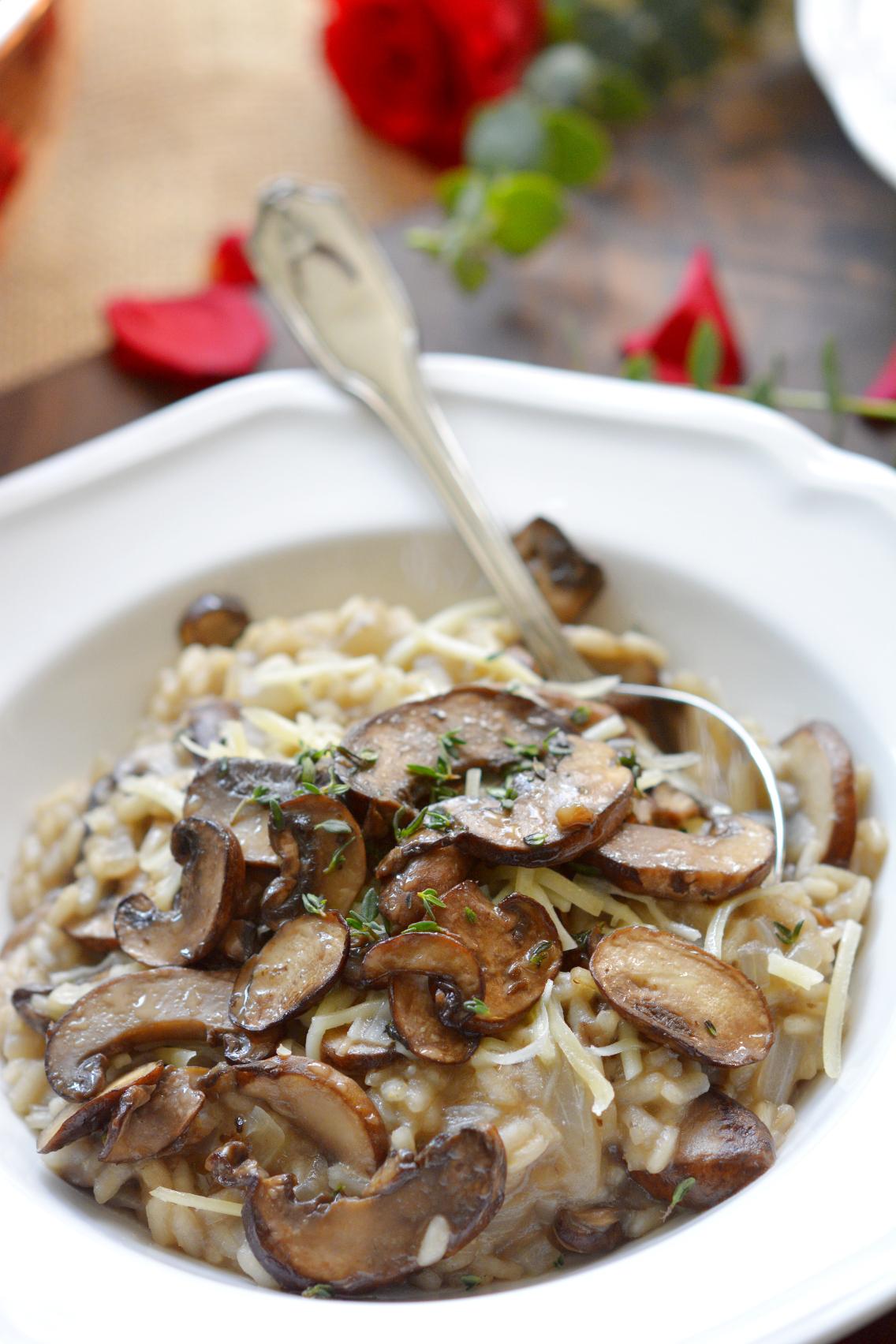 Black Truffle Mushroom Risotto Recipe 14