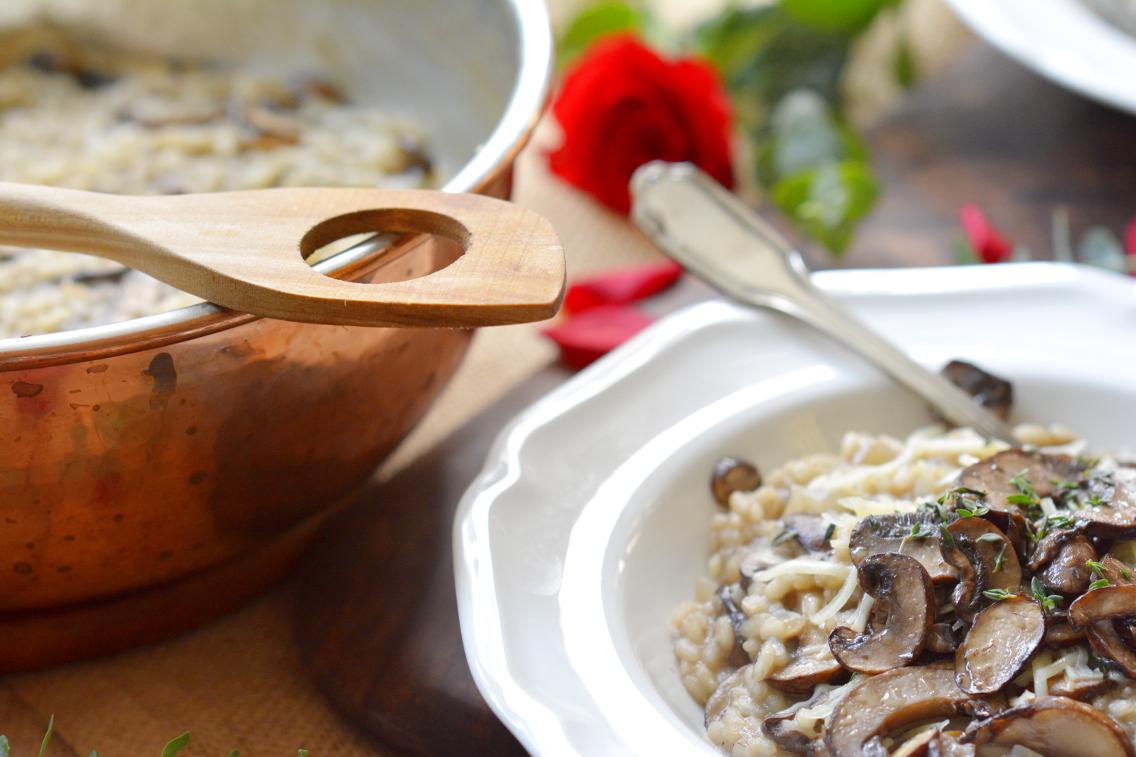 Black Truffle Mushroom Risotto Recipe 19