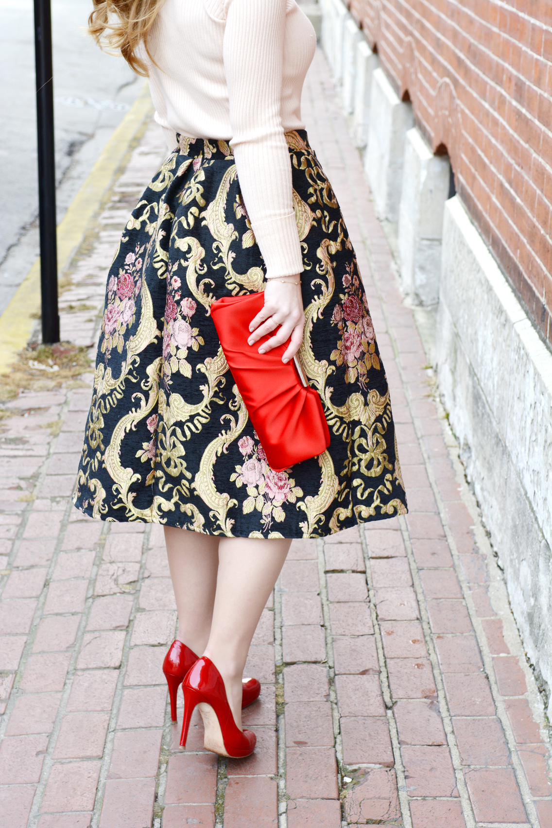Rococo Rose Red Valentine's Day Outfit 14