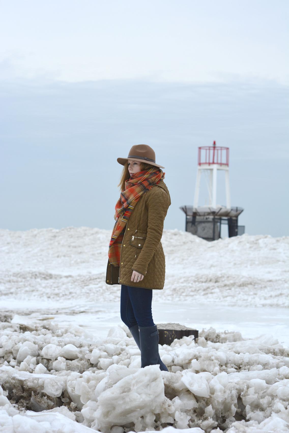 Winter at North Avenue Beach