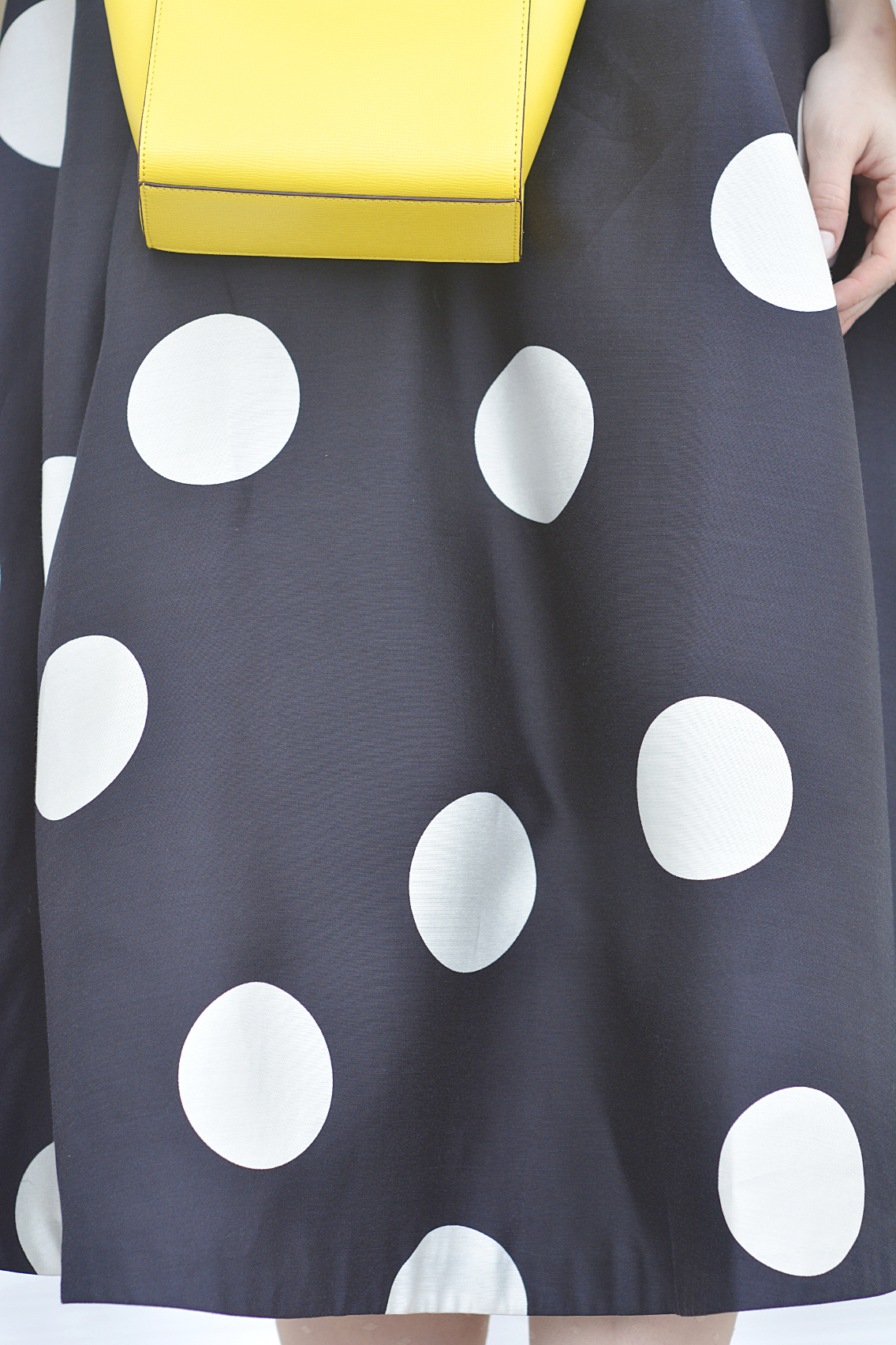 LK Bennett Polka Dot Midi Dress Spring 2015 37