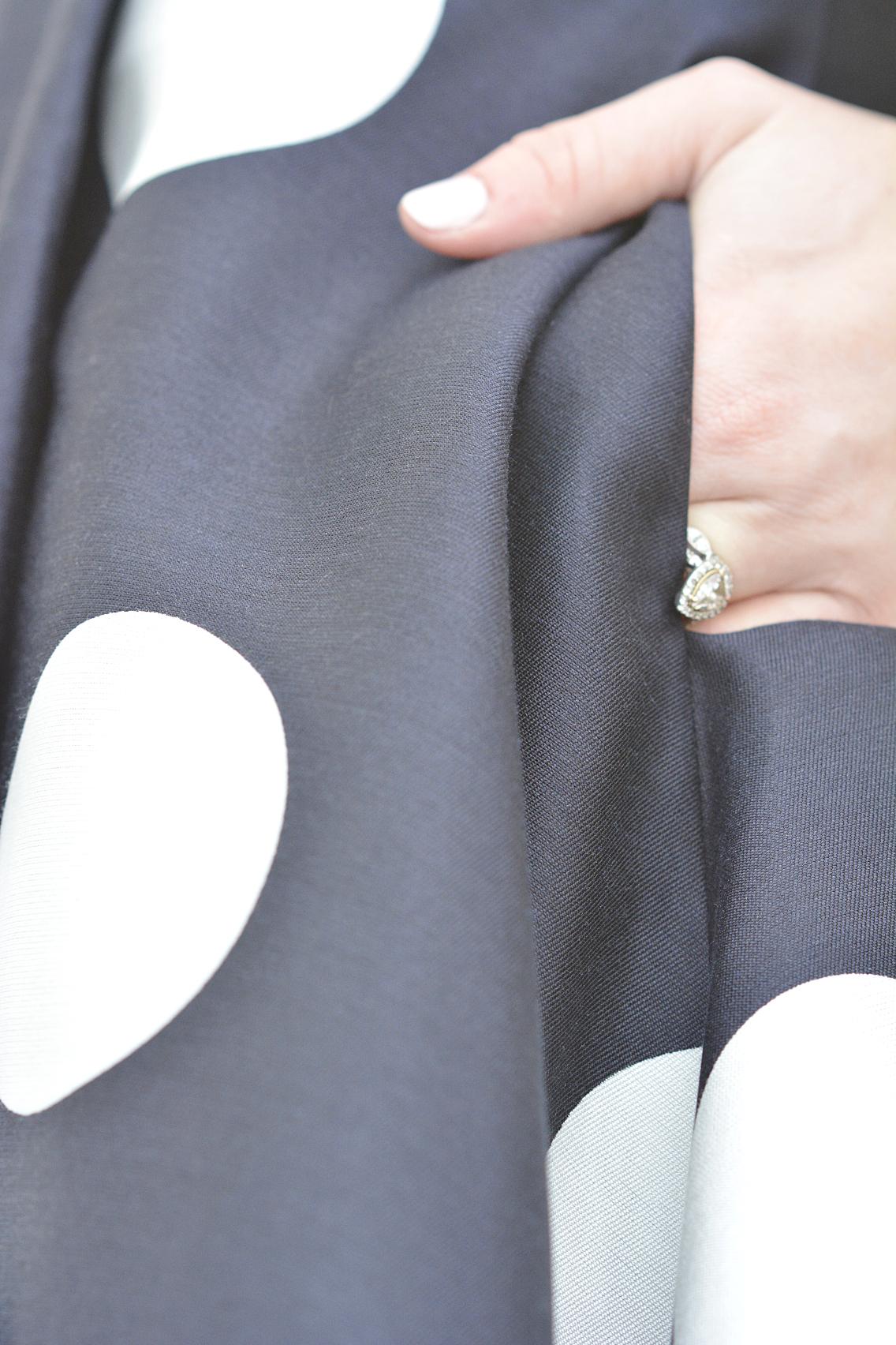 LK Bennett Polka Dot Midi Dress Spring 2015 2