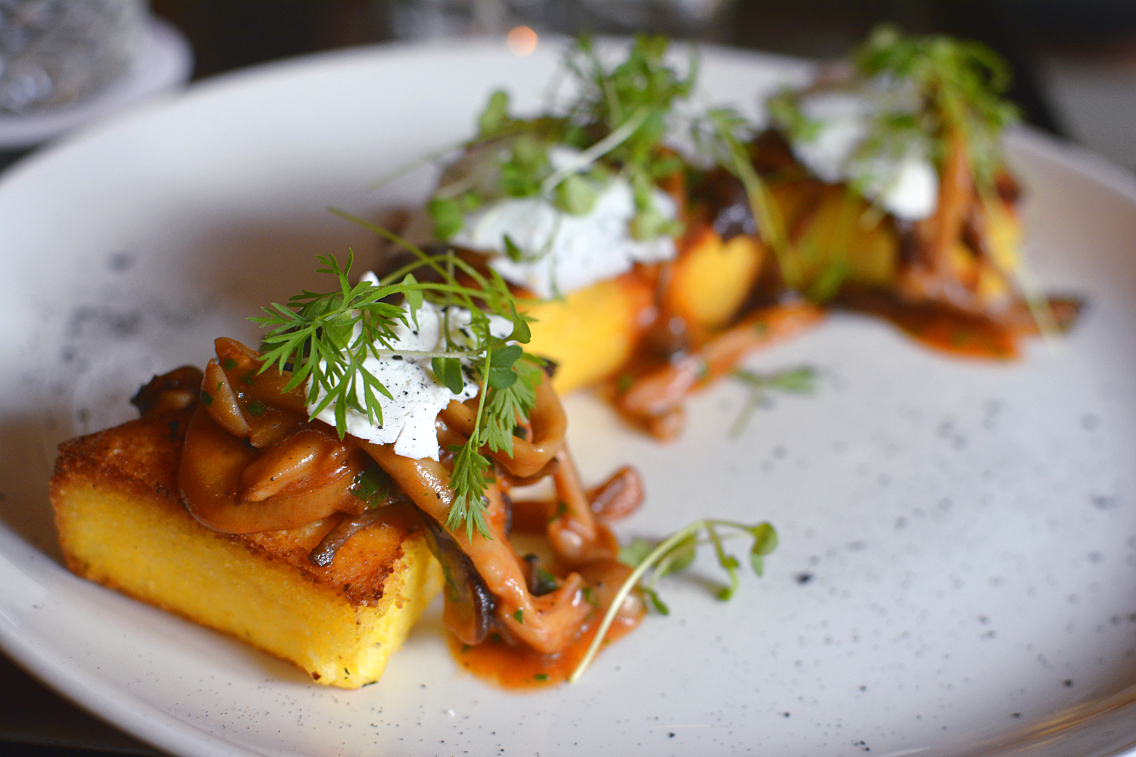 Presidio Chicago Polenta Small Plate