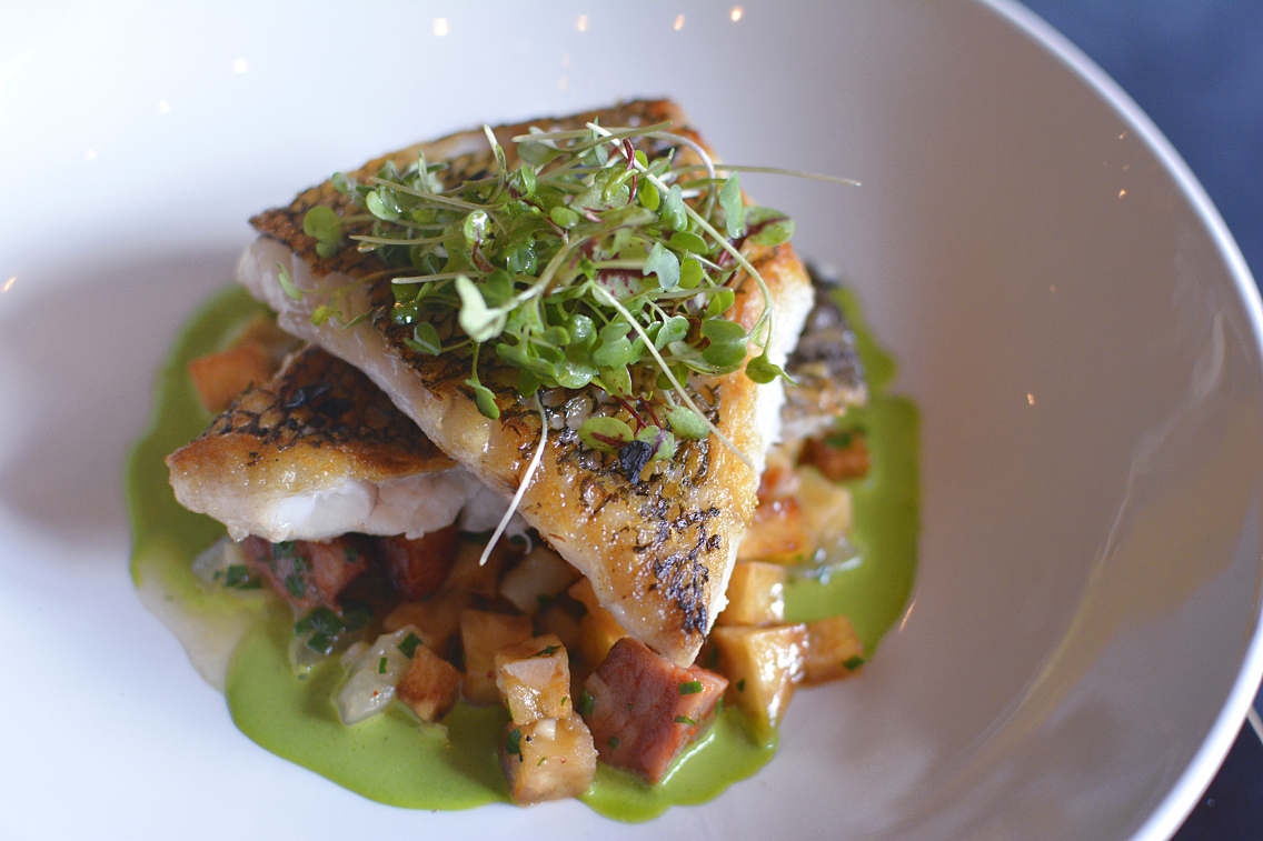Presidio Chicago Wild Black Bass with Potato Chorizo 2