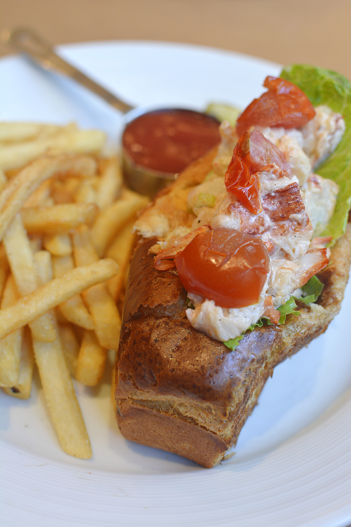 David Burke's Primehouse Chicago Lobster Roll 1