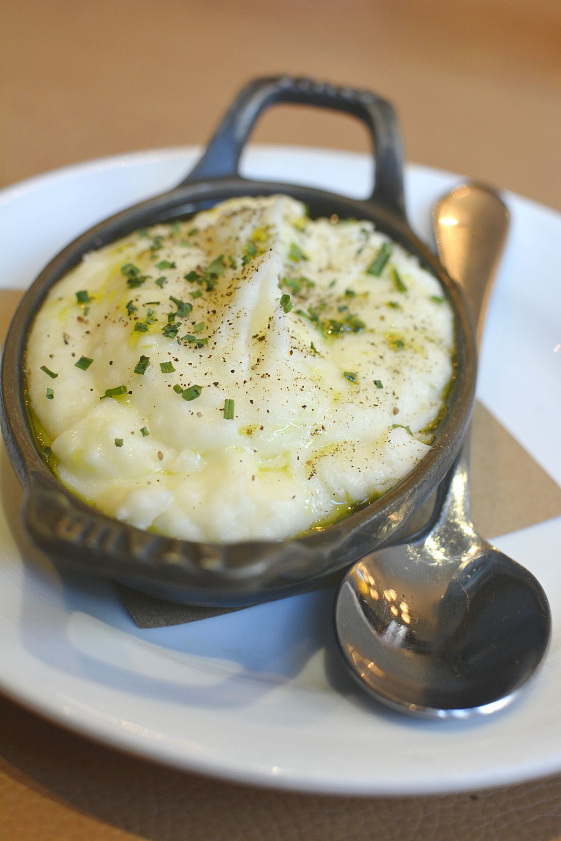 David Burke's Primehouse Chicago Basil Whipped Potatoes