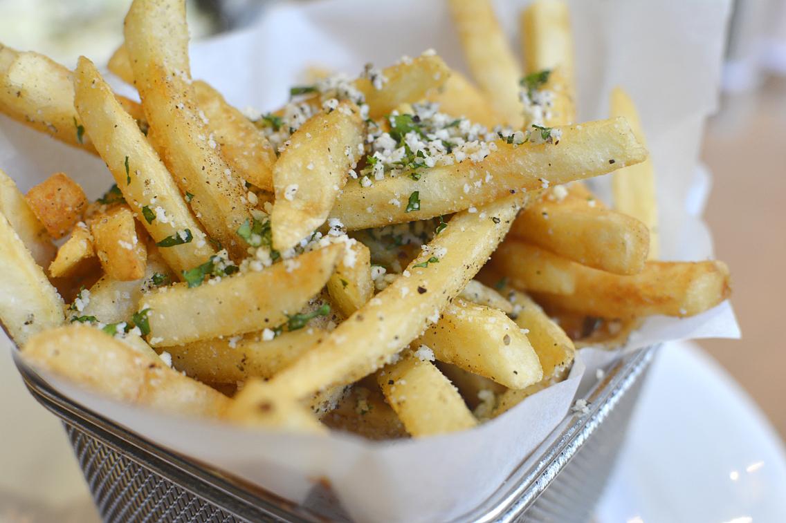 David Burke's Primehouse Chicago Black Pepper Fries