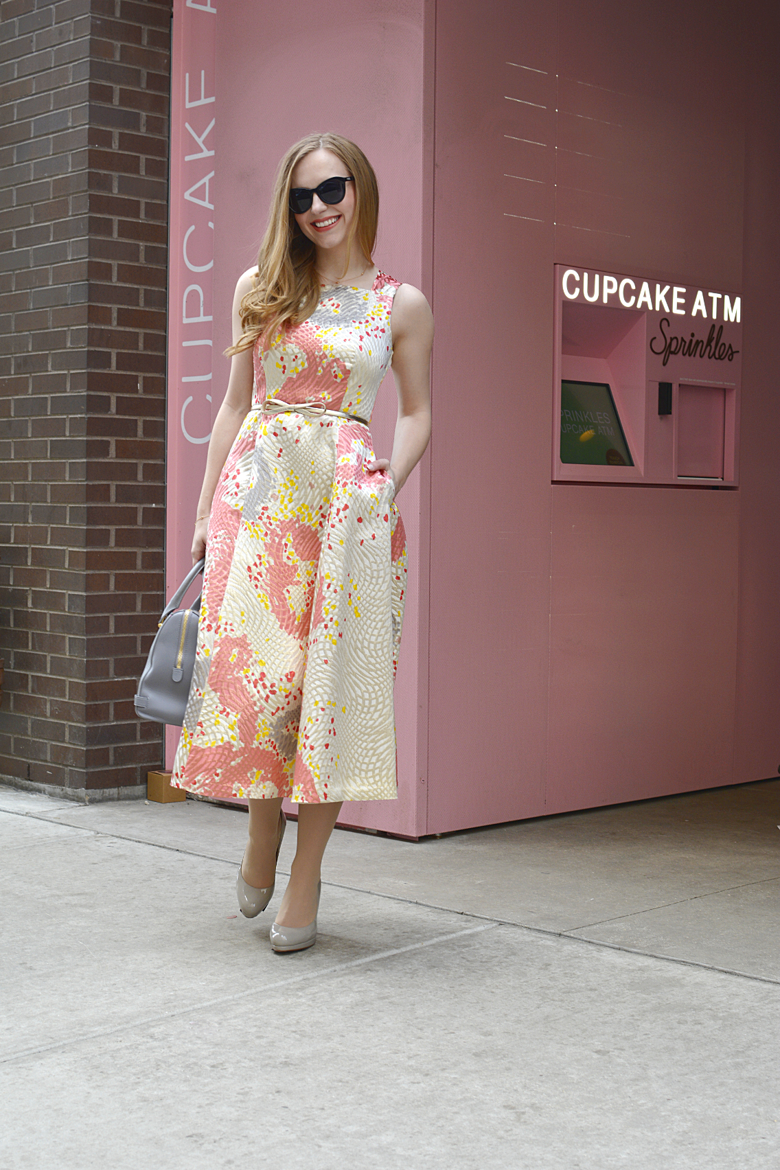 LK Bennett Chicago Gardo Jacquard Dress Sprinkles Cupcakes 2