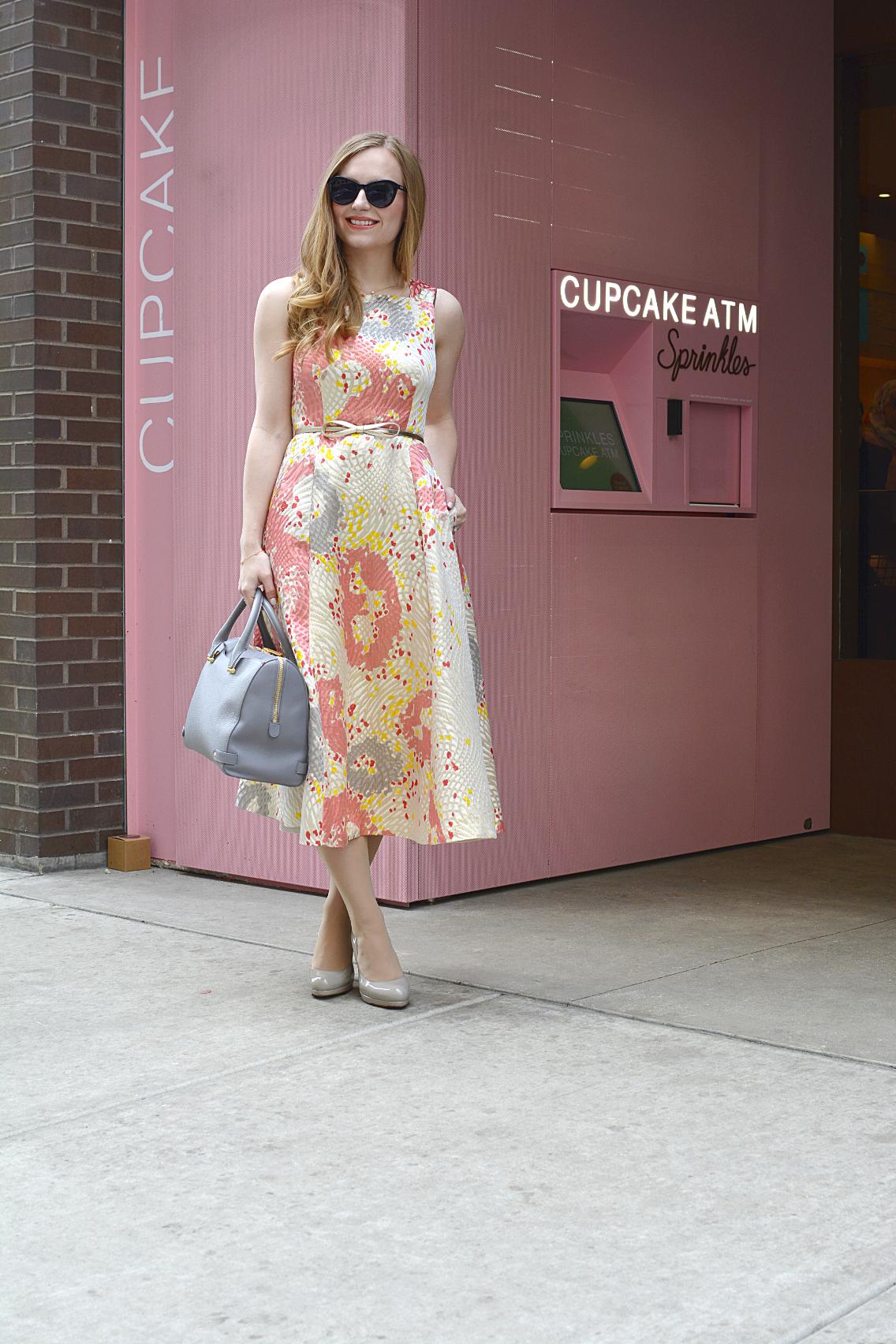 LK Bennett Chicago Gardo Jacquard Dress Sprinkles Cupcakes 5