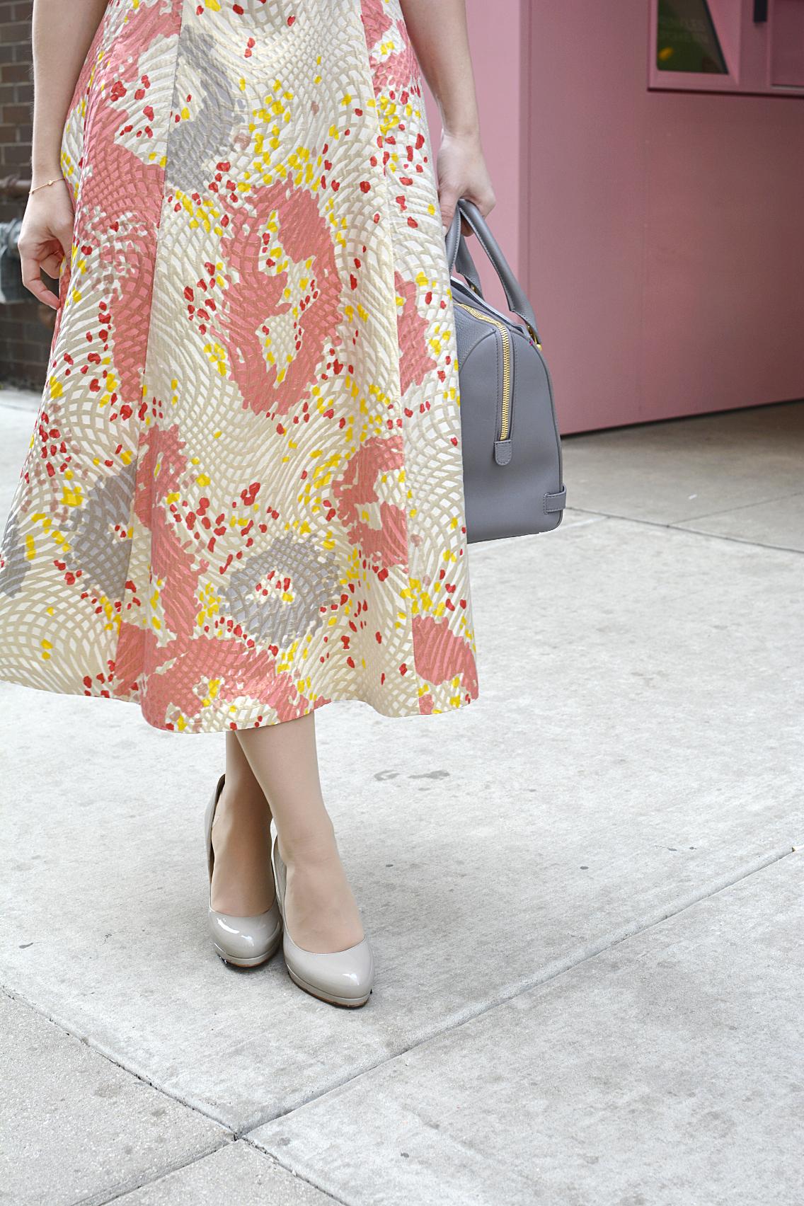 LK Bennett Chicago Gardo Jacquard Dress Sprinkles Cupcakes 9