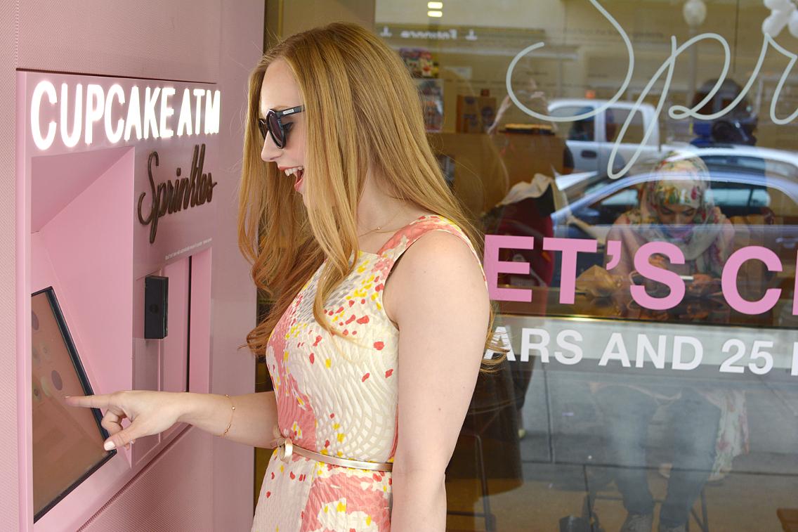 LK Bennett Chicago Gardo Jacquard Dress Sprinkles Cupcakes 14