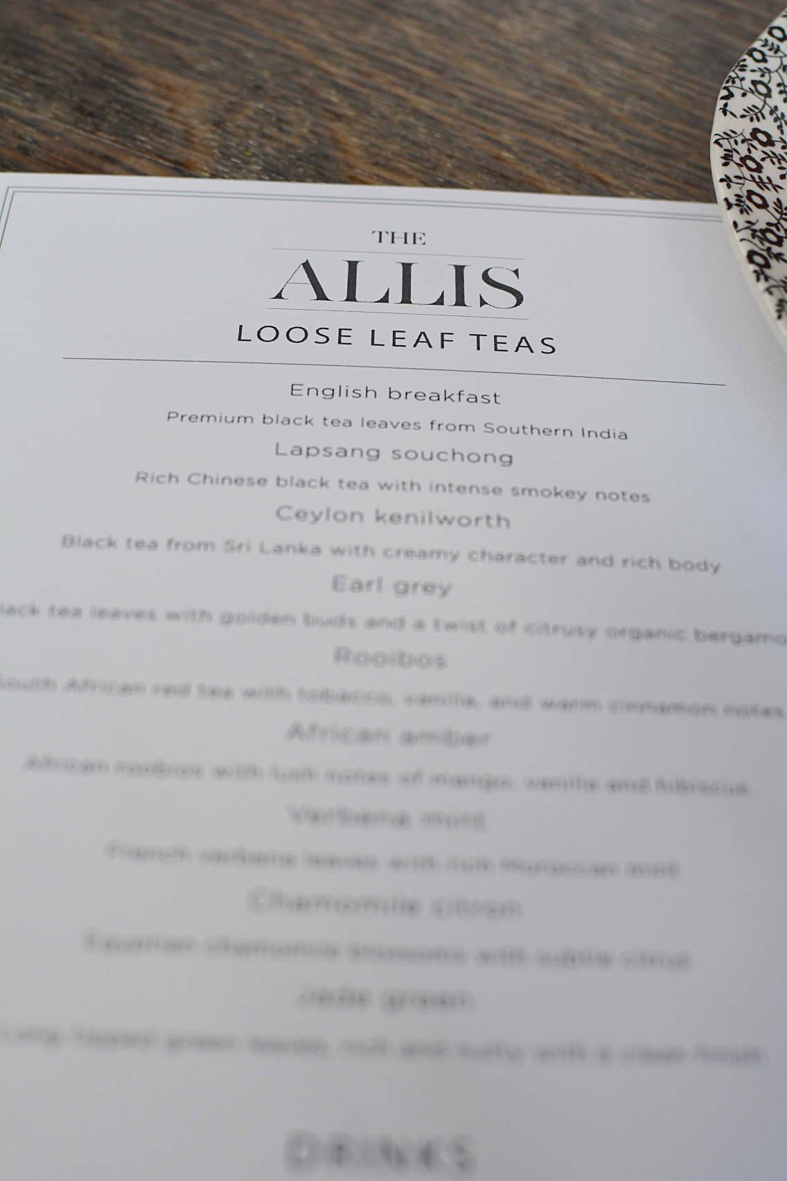Afternoon Tea at The Allis Soho House 2