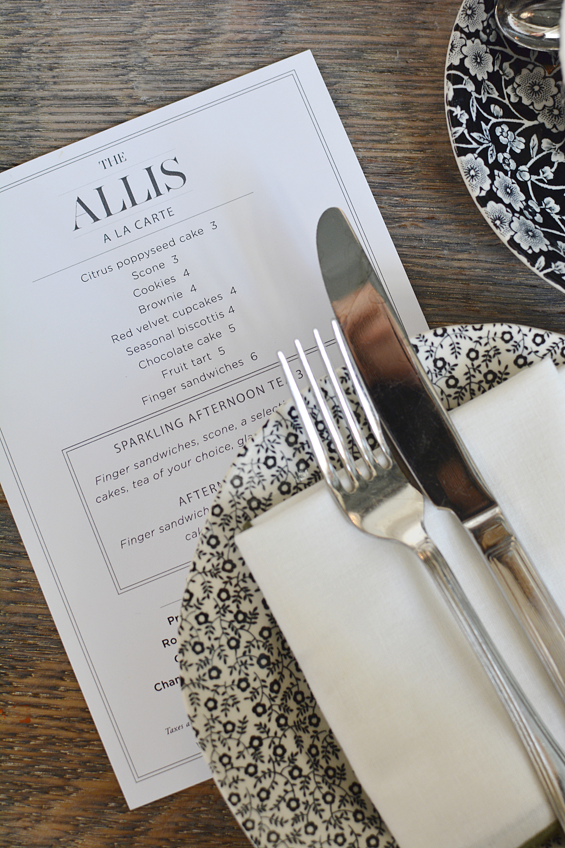 Afternoon Tea at The Allis Soho House 3