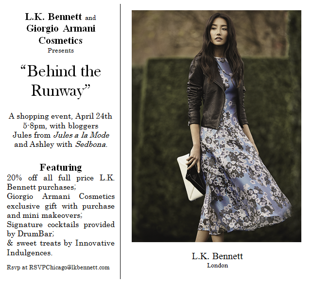 LK Bennett Chicago Spring Event Invite