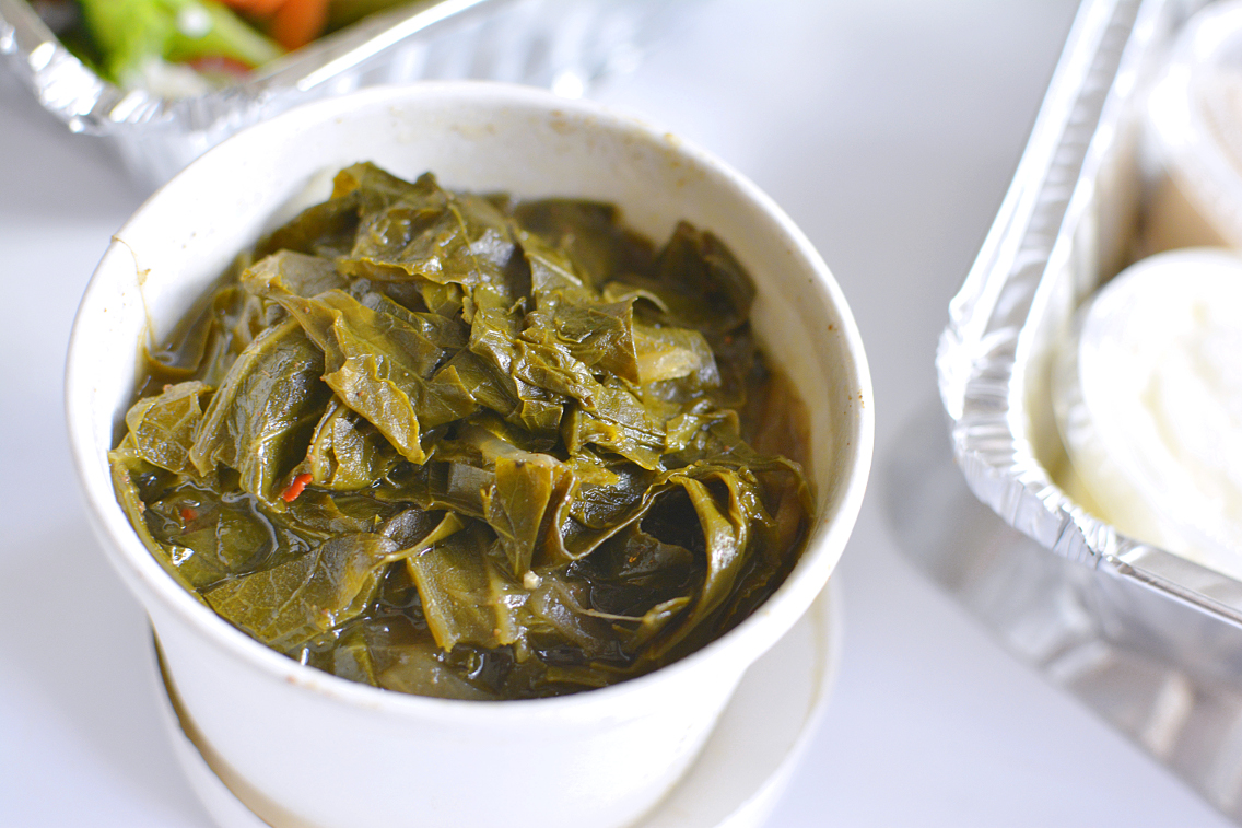 County BBQ DMK Collard Greens