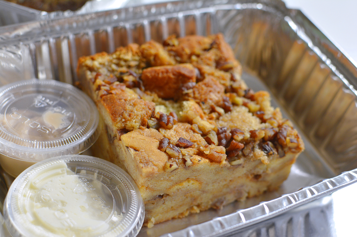 County BBQ DMK Chicago Bread Pudding
