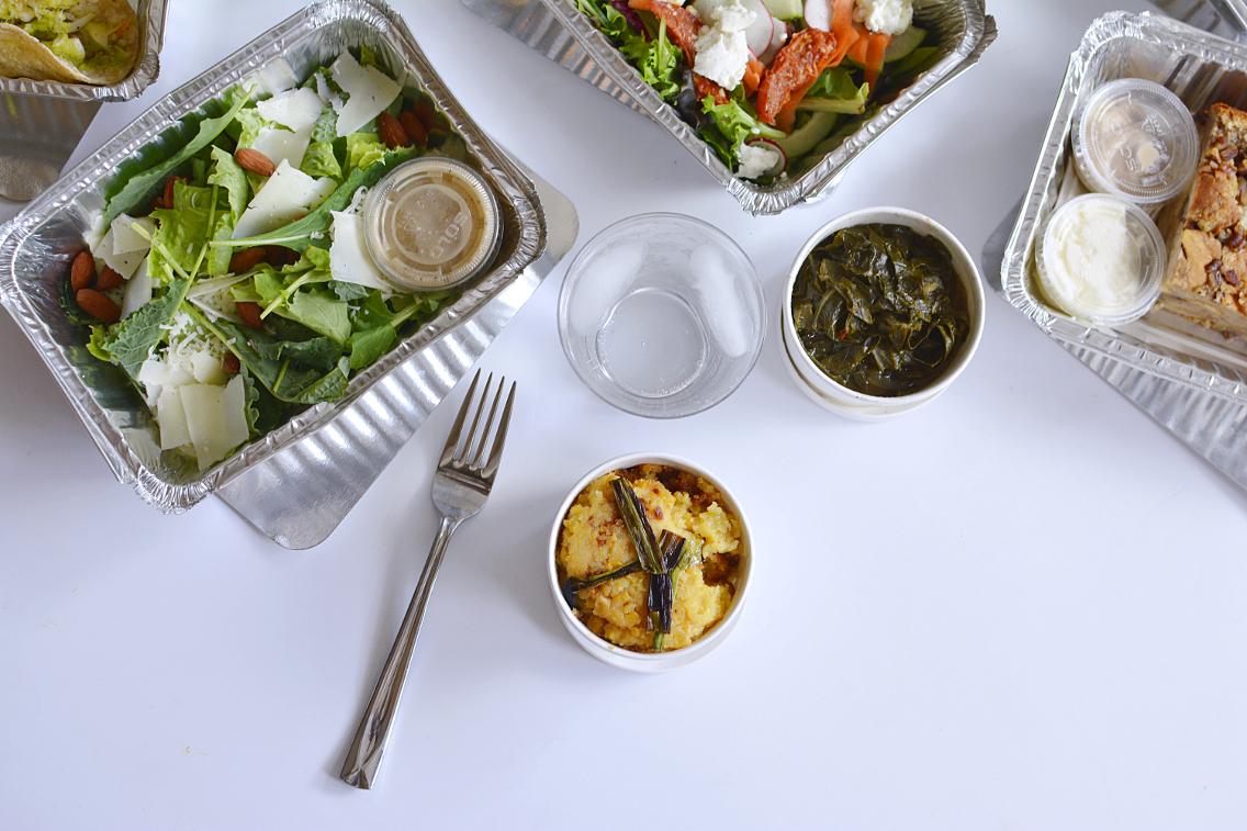 County BBQ DMK Kale and Romaine Caesar Salad 1