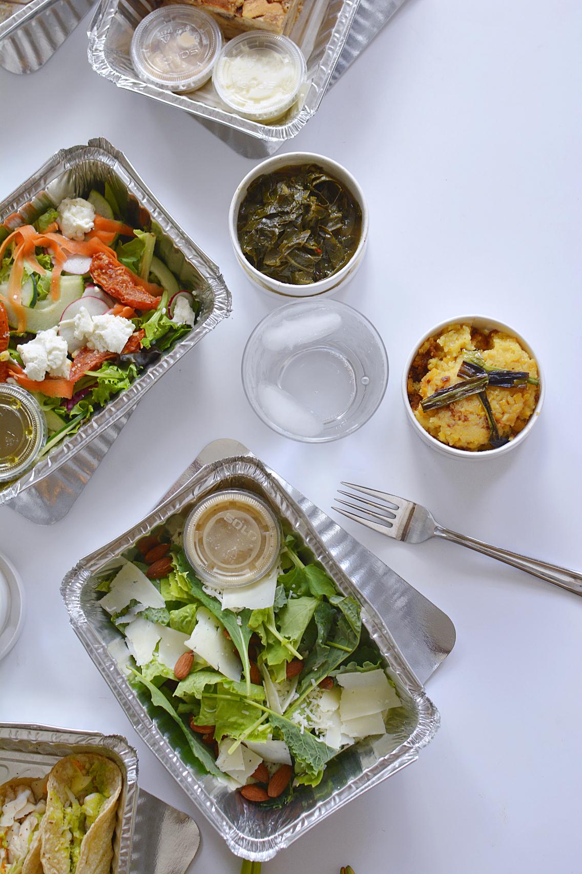 County BBQ DMK Kale and Romaine Caesar Salad 2