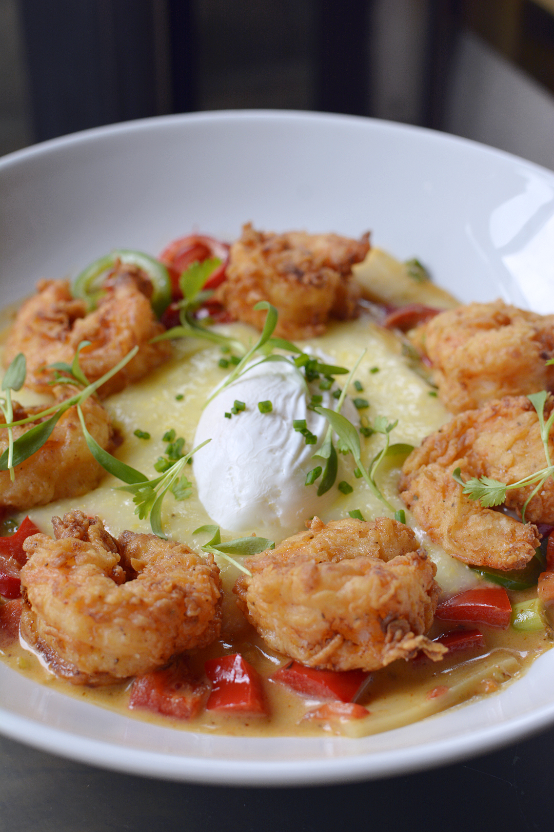 Presidio Chicago Thai Shrimp & Grits 1