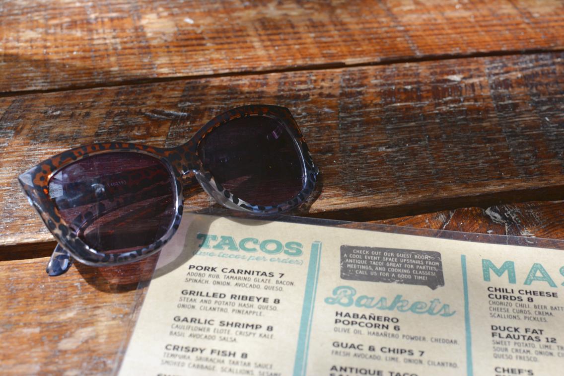 Antique Taco Le Specs Sunglasses
