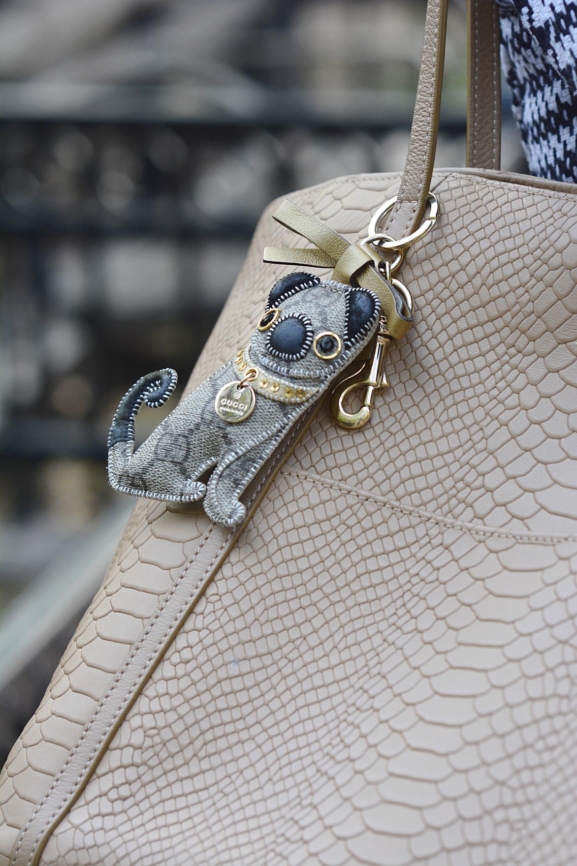 Gucci Pug Keychain