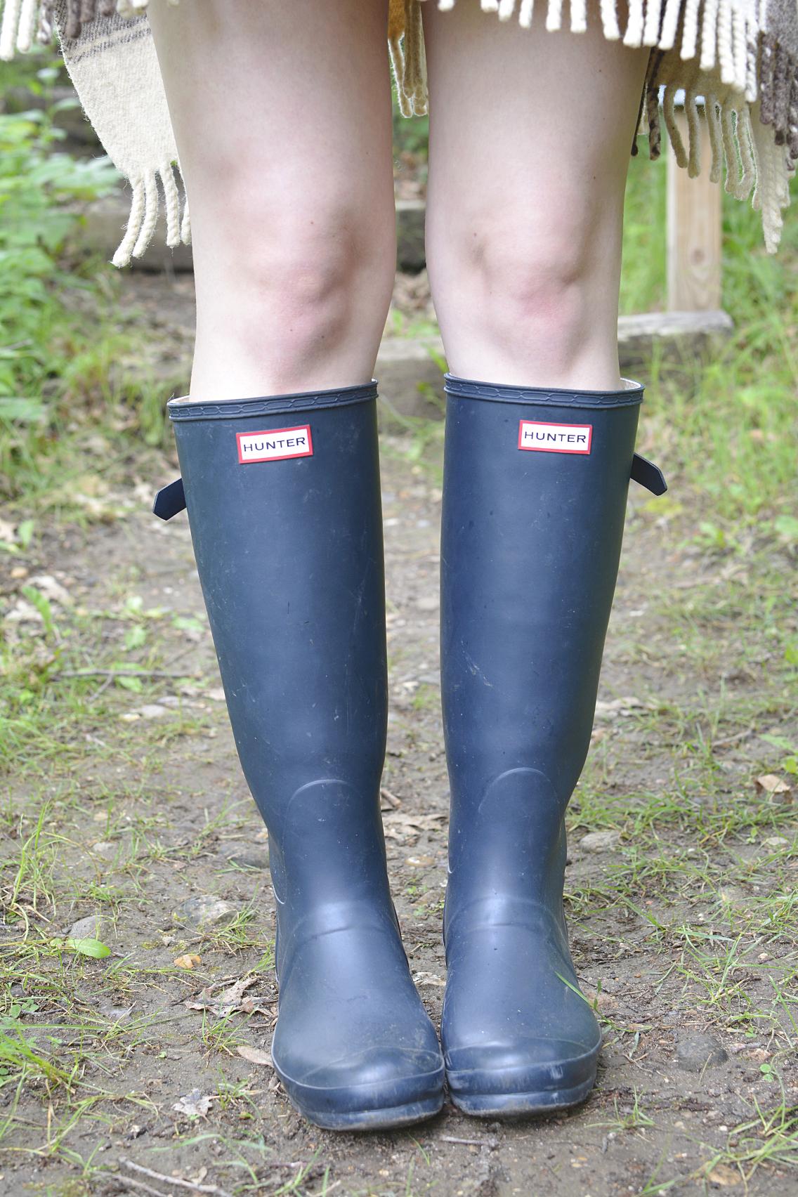 Hunter Boots Pendleton Wool Cape