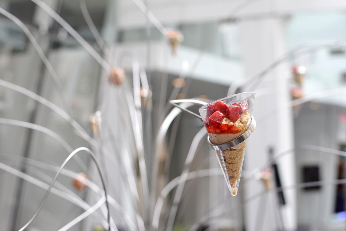 Sofitel Chicago Chestnut Provisions Foie Gras and Strawberry Verrines