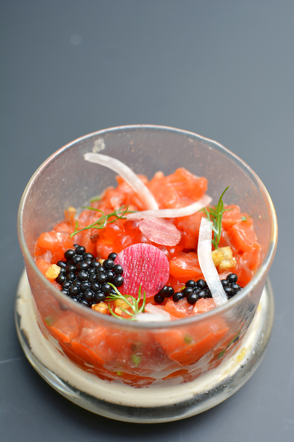 Sofitel Chicago Smoked Salmon Tartare 8
