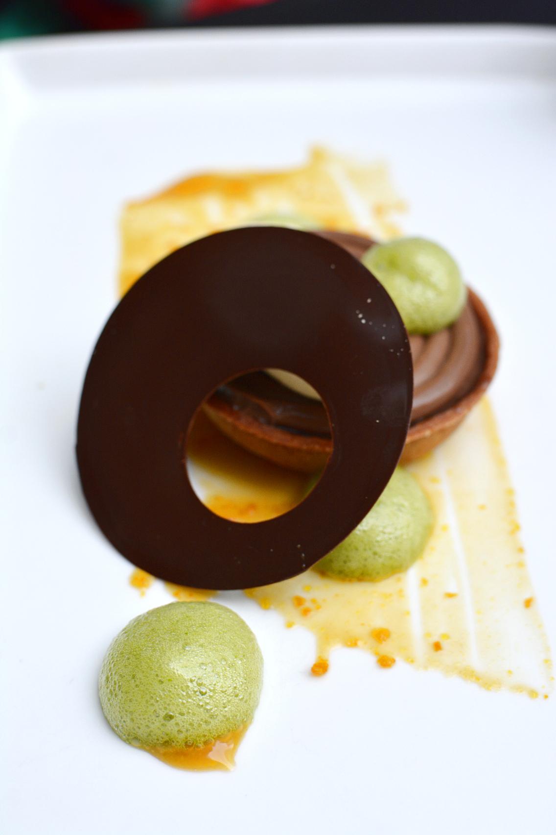 Sofitel Chicago Chestnut Provisions Chocolate Tart