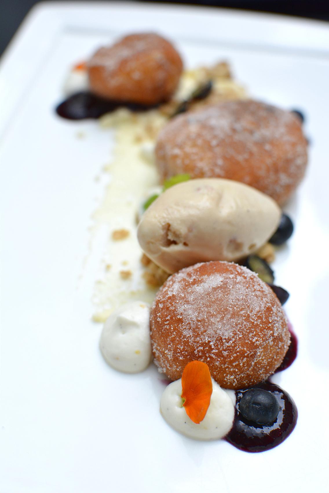 Sofitel Chicago Chestnut Provisions Blueberry Doughnuts 1