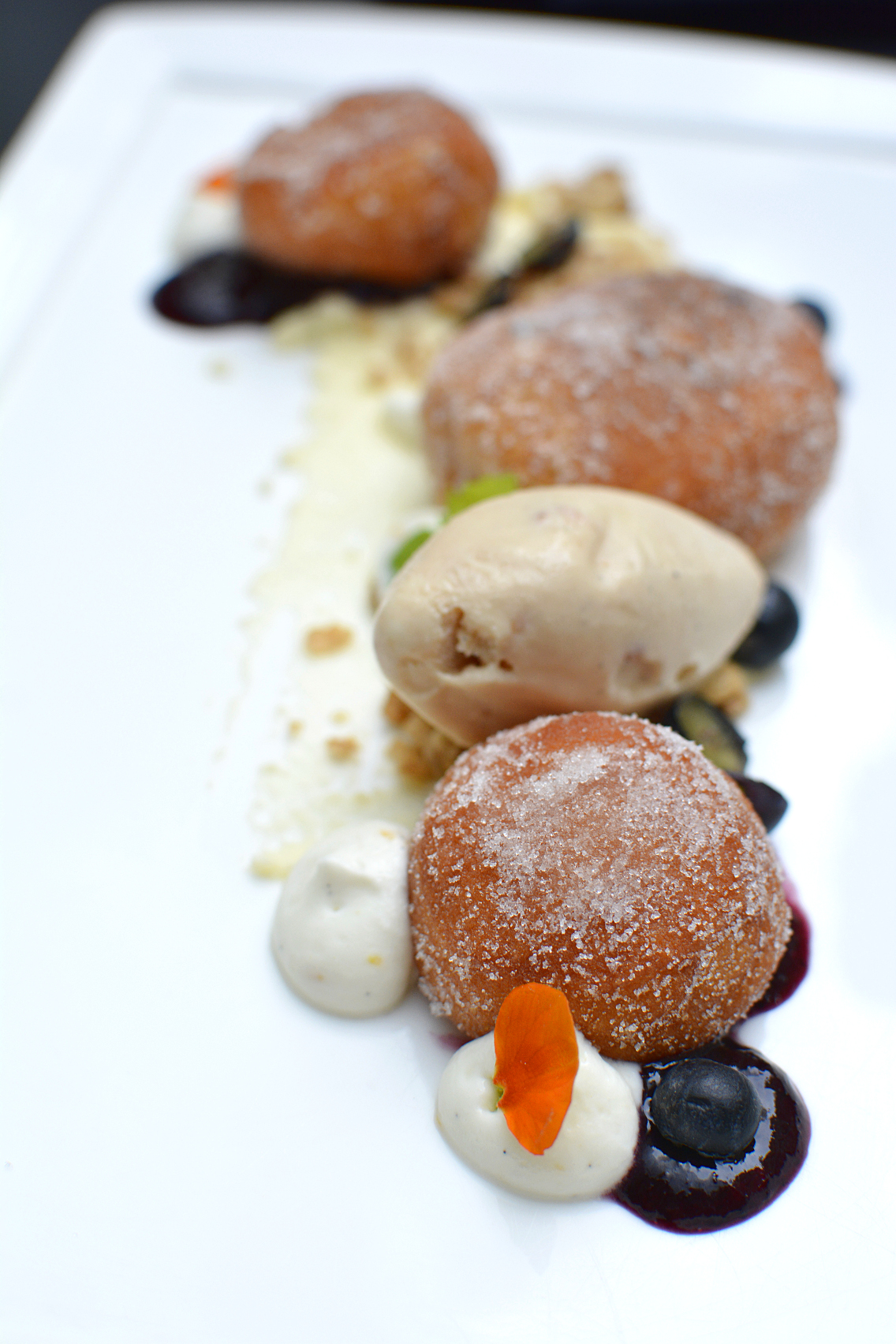 Sofitel Chicago Chestnut Provisions Blueberry Doughnuts 1