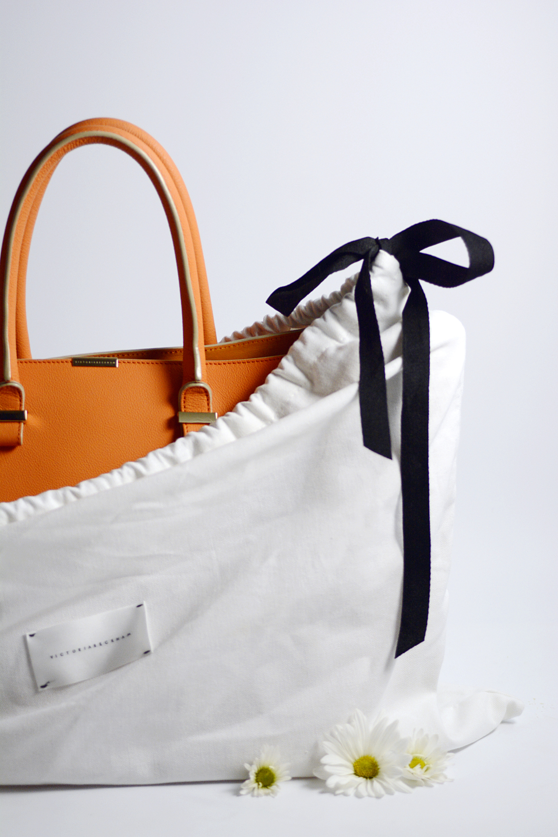 Victoria Beckham Liberty Tote Persimmon Orange 4