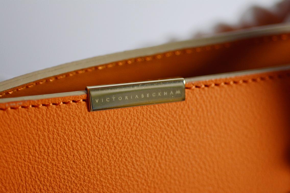 Victoria Beckham Liberty Tote Persimmon Orange 5