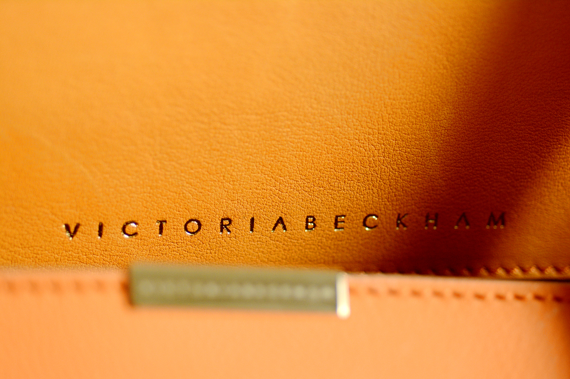 Victoria Beckham Liberty Tote Persimmon Orange 8