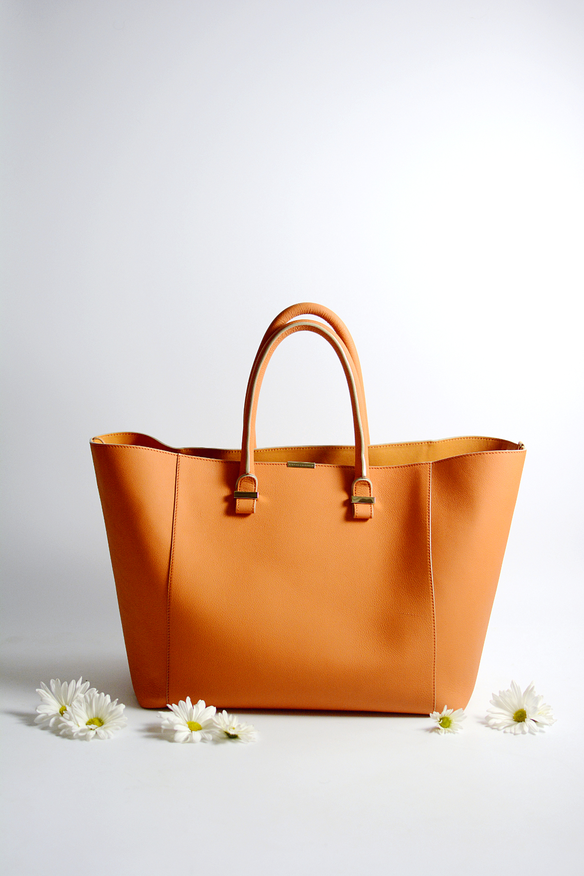 Victoria Beckham Liberty Tote Persimmon Orange 10