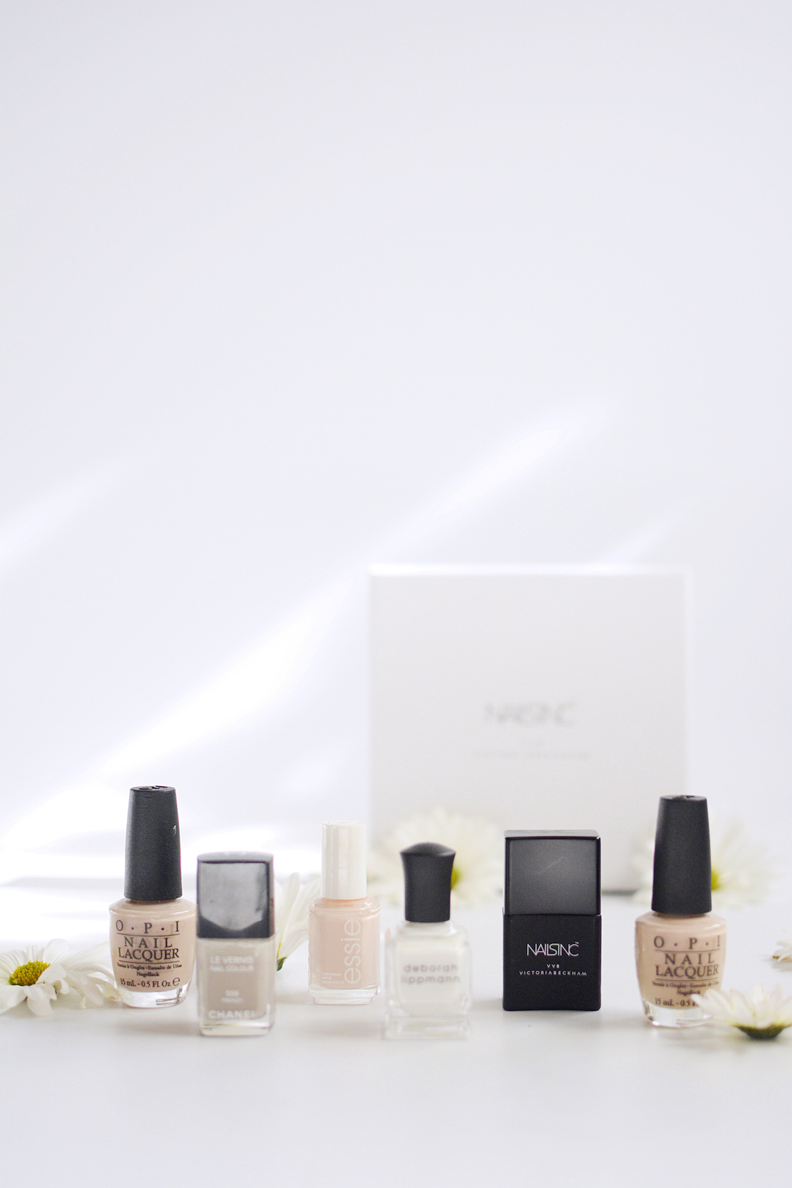 The Pale Girl's Guide to Nude Polishes - Sed Bona
