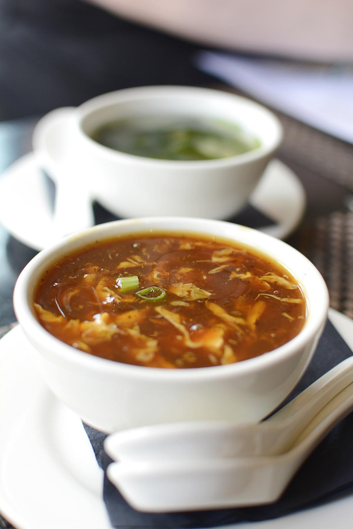 Koi Evanston Hot and Sour Soup