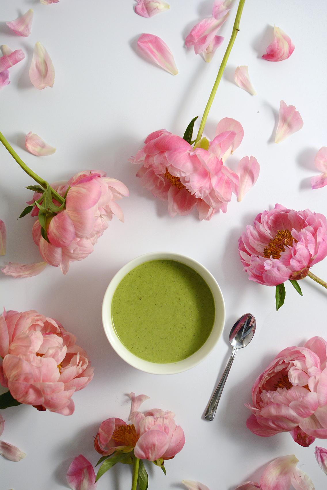 Matcha Green Tea Protein Smoothie Bowl 3