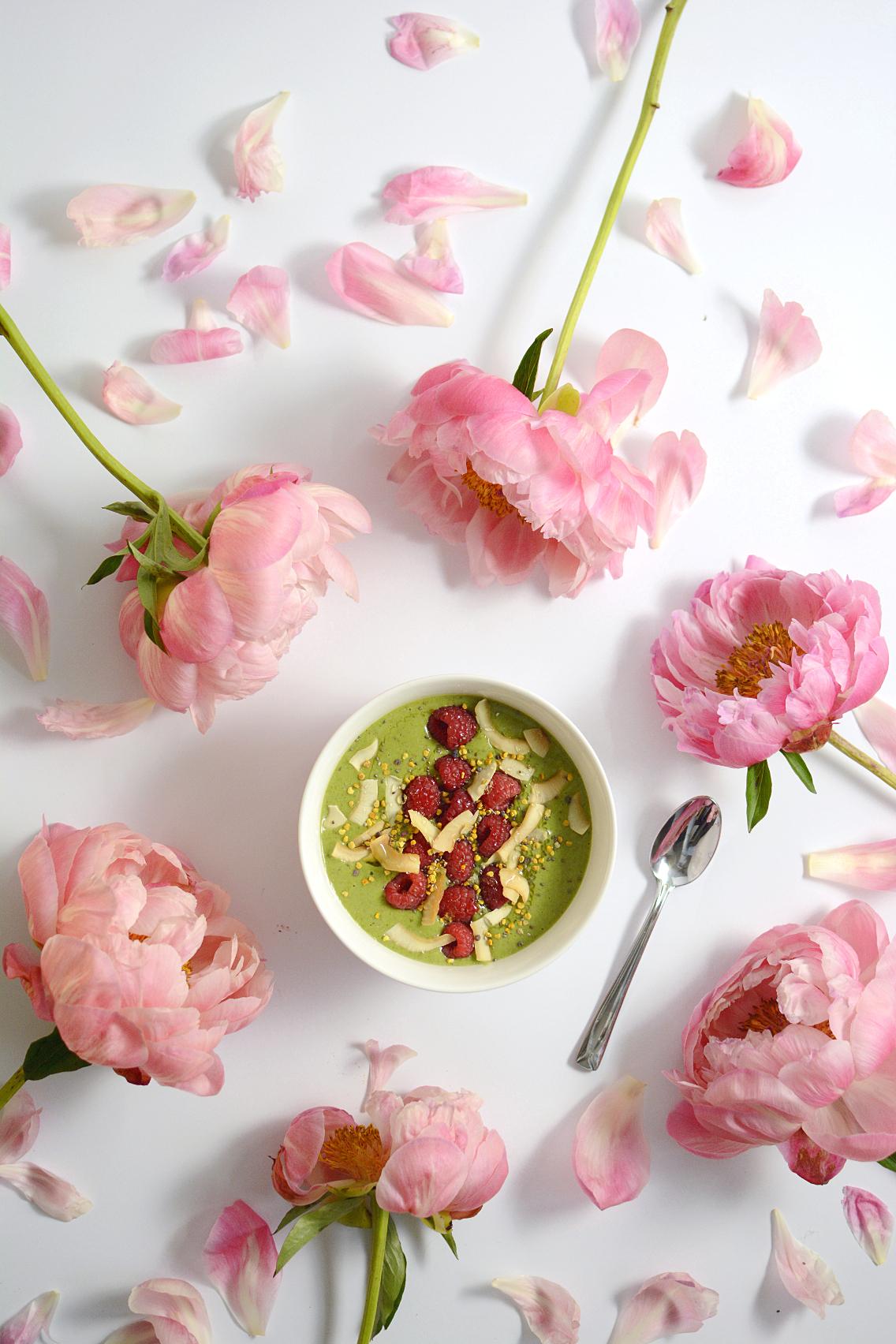 Matcha Green Tea Protein Smoothie Bowl 7