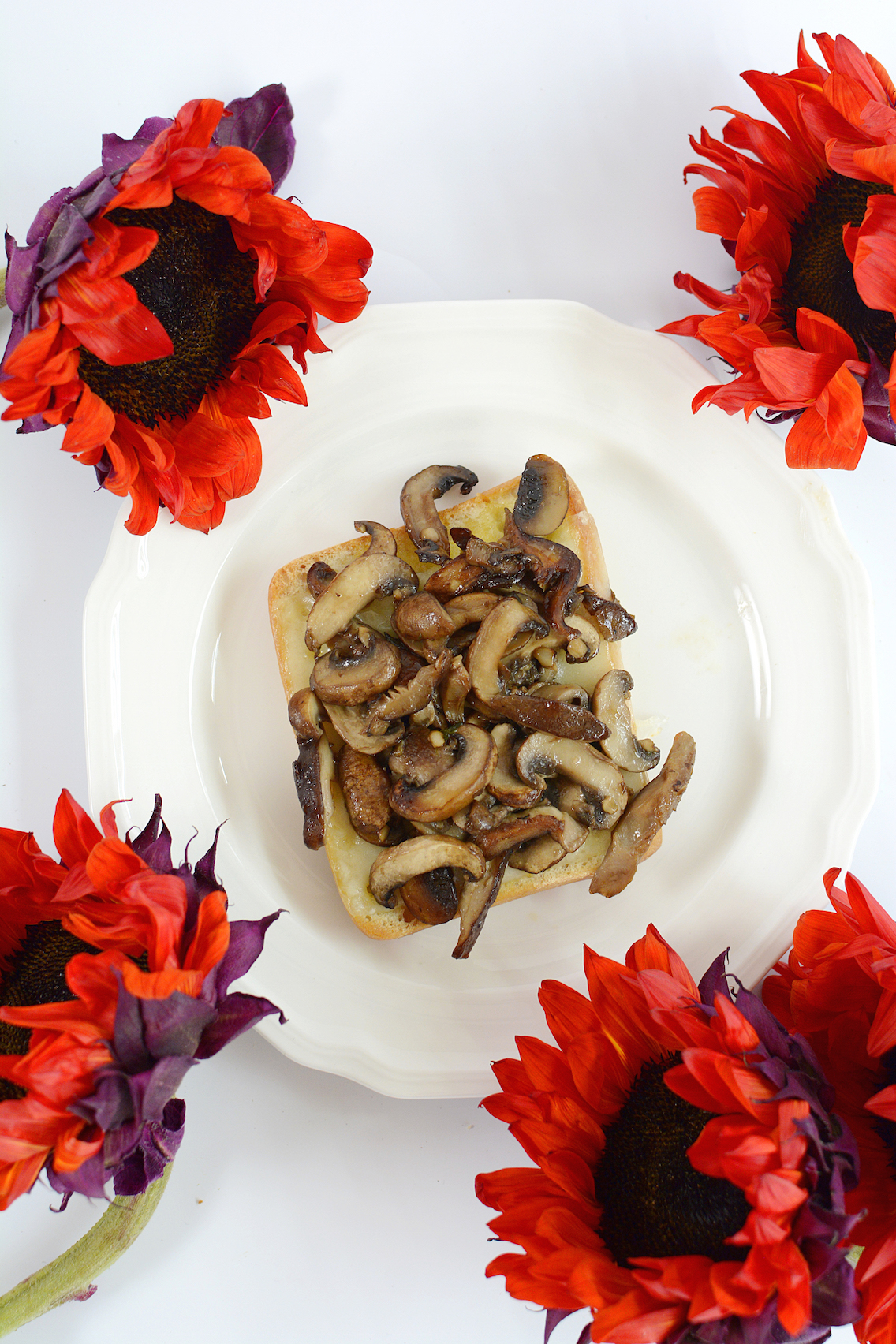 Mushroom Egg Sandwich 1