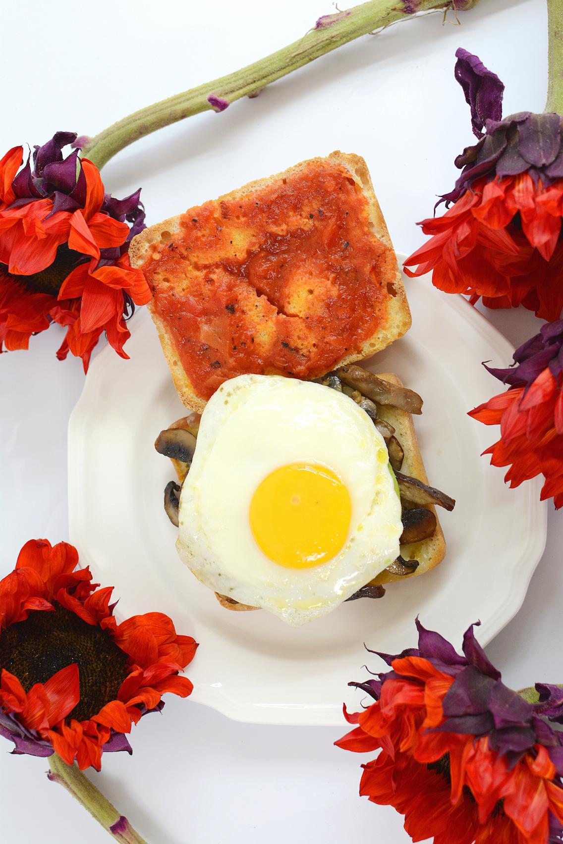 Mushroom Egg Sandwich 5