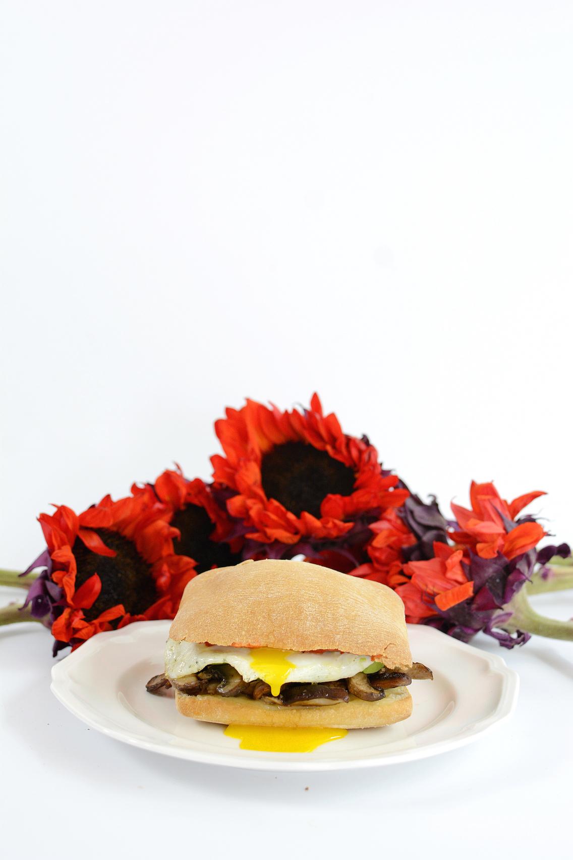 Mushroom Egg Sandwich 12