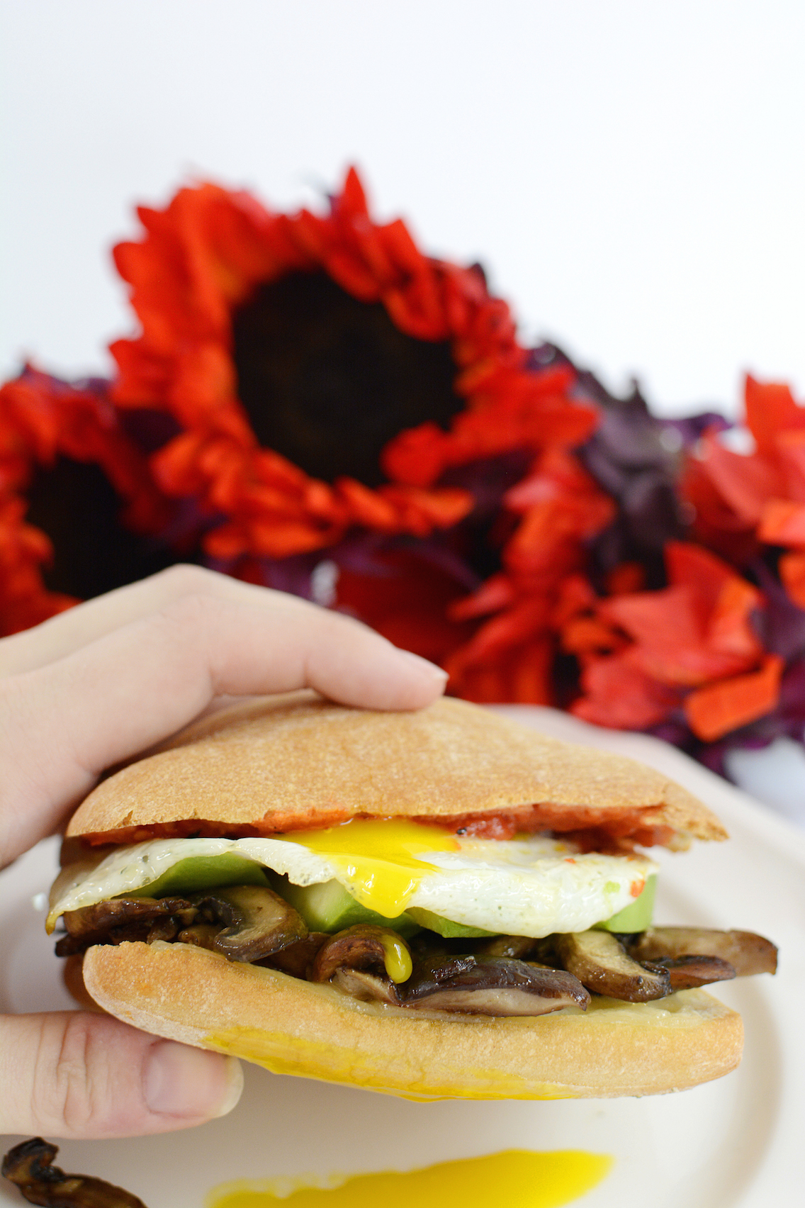 Mushroom Egg Sandwich 13